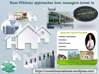 Russ Whitney approaches how managers invest in land